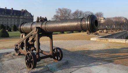 MA BC canonsprussiens batte Les canons prussiens de la Batterie triomphale