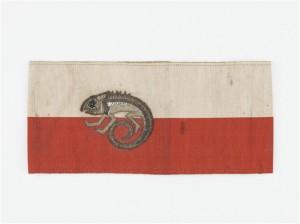 Brassard officiel de la section camouflage de 1916