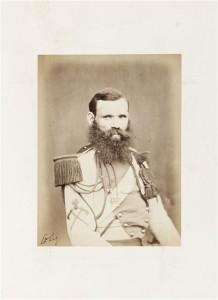 Sapeur du régiment des lanciers de la Garde Impériale