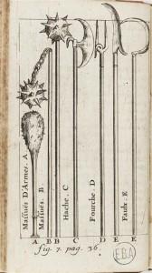 Planche 7 du Traité des armes de Louis de Gaya