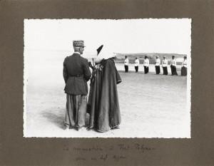 Le général Nieger et un chef Ajjer