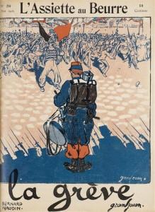 La grève, « L'assiette au beurre », n° 214, 6 mai 1905