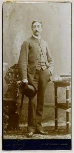 Portrait photographique Edouard Detaille
