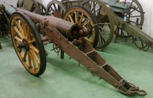 95 300x193 Un canon de 95 mm Lahitolle entre dans les collections du musée de l'Armée