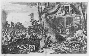 06 518173 300x191 Scènes de massacres de Romeyn de Hooghe