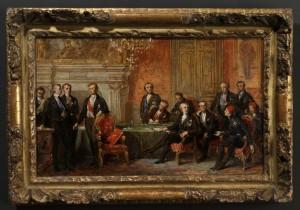 Dubufe 300x210 La guerre de Crimée et le Congrès de Paris