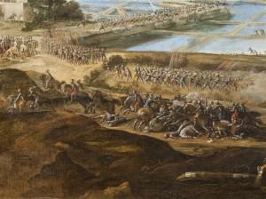 12 551253 300x224 « La Défaite des Anglais en l'Île de Ré par l'armée française le 8 novembre 1627 » de L. de La Hyre