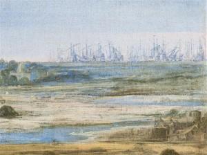 12 551257 300x224 « La Défaite des Anglais en l'Île de Ré par l'armée française le 8 novembre 1627 » de L. de La Hyre
