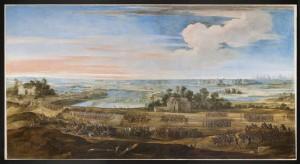 12 551260 300x164 « La Défaite des Anglais en l'Île de Ré par l'armée française le 8 novembre 1627 » de L. de La Hyre