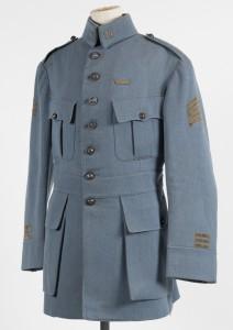 Uniforme du Capitaine MAGNY à l'Imperial War Museum