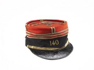 14 552139 300x225 Le képi polo du capitaine Louis Frélaut : une coiffe caractéristique des officiers en août 1914