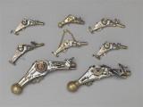Pistolets à rouet miniatures