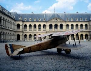 Spad VII 10 511827 bandeau allegee 300x236 Sur les traces d'un as de la Grande Guerre, le récolement au musée de l'Air et de l'Espace