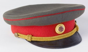 Casquette Urss 15 523700 300x180 Coiffes dofficiers de la Seconde Guerre mondiale, 2nde partie