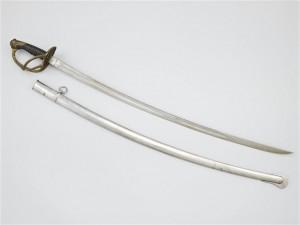 Sabre d'officier de cavalerie légère modèle 1822 ayant appartenu au lieutenant-colonel Klobb