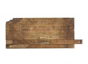 14 528632 300x220 Nouvelle acquisition au musée de l'Armée : une réglette de correction d'artilleur de la Grande Guerre