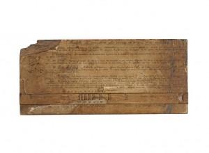 14 528634 300x220 Nouvelle acquisition au musée de l'Armée : une réglette de correction d'artilleur de la Grande Guerre