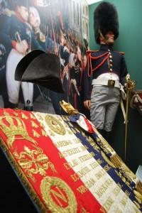 Vitrine du musée de la Cavalerie de Saumur