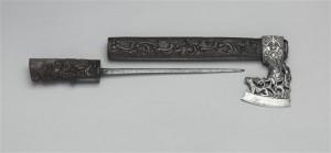 Hachette, avec un poignard caché dans le manche © Paris - Musée de l'Armée, Dist. RMN-Grand Palais / Philippe Fuzeau
