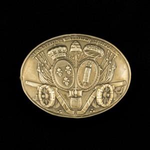 Plaque giberne 2 16 539742 300x300 Le décor des plaques de giberne de la Garde Nationale à la Révolution