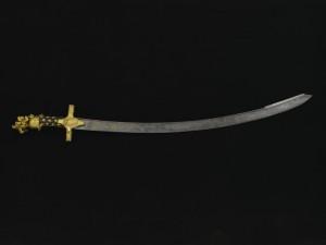 Sabre d'honneur offert au comte de Vauban par les Cincinnati