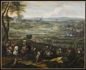 Bataille de Seneffe 300x244 Participation exceptionnelle du musée de l'Armée à l'exposition Le Grand Condé. Le rival du roi Soleil ? à Chantilly