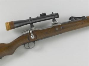 "Fusil Mauser dit ""G 98"", lunette"