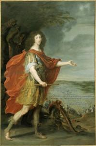 Portrait de Louis II de Bourbon par Juste dEgmont 199x300 Participation exceptionnelle du musée de l'Armée à l'exposition Le Grand Condé. Le rival du roi Soleil ? à Chantilly