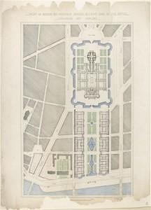 16 520537 216x300 Acquisition : Projet d'aménagement de l'esplanade et de l'Hôtel des Invalides par Alphonse Crépinet