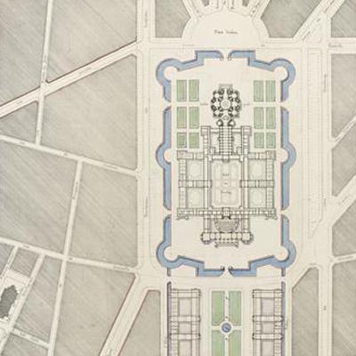 Acquisition : Projet d'aménagement de l'esplanade et de l'Hôtel des Invalides par Alphonse Crépinet