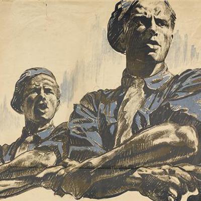 Plusieurs dons d'affiches relatives à la Seconde Guerre mondiale en 2016