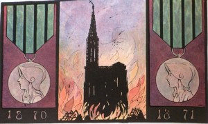 Hansi 300x180 Hansi et le souvenir de la guerre de 70