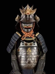 Armure moderne complète à cuirasse en deux sections Nimai yokohagi do tosei gusoku G 750