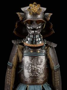 Armure moderne complète au décor du plastron en fer repoussé Uchinashi do tosei gusoku 5552 I (G 750/1)
