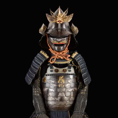 Les armures japonaises du musée de l'Armée