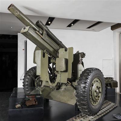 L'obusier de 105 mm HM2 : un best-seller américain au musée de l'Armée