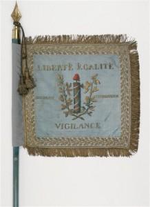 Étendard du 2e escadron des guides, 1797 (inv. 1608)