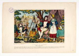 N° Inv. 07249 9 300x213 La vivandière et la cantinière dans les collections du musée de lArmée