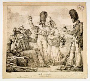 N°Inv.724914 300x269 La vivandière et la cantinière dans les collections du musée de lArmée