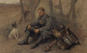 06 519383 1 300x184 [MuseumWeek] Quand le chien est le meilleur ami du soldat #TogetherMW